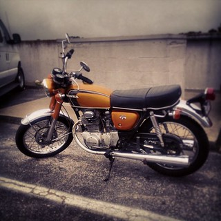 Like my original #CB350. More stock. Less original. | by sweetmarias