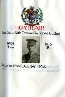 Blair, George Young (1894-1914) | by sherborneschoolarchives