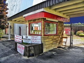 Reynold's Drive-in ~ Ticket Booth ~  Transfer, PA ~  USA | by Onasill ~ Bill Badzo - 54M View - Thank You