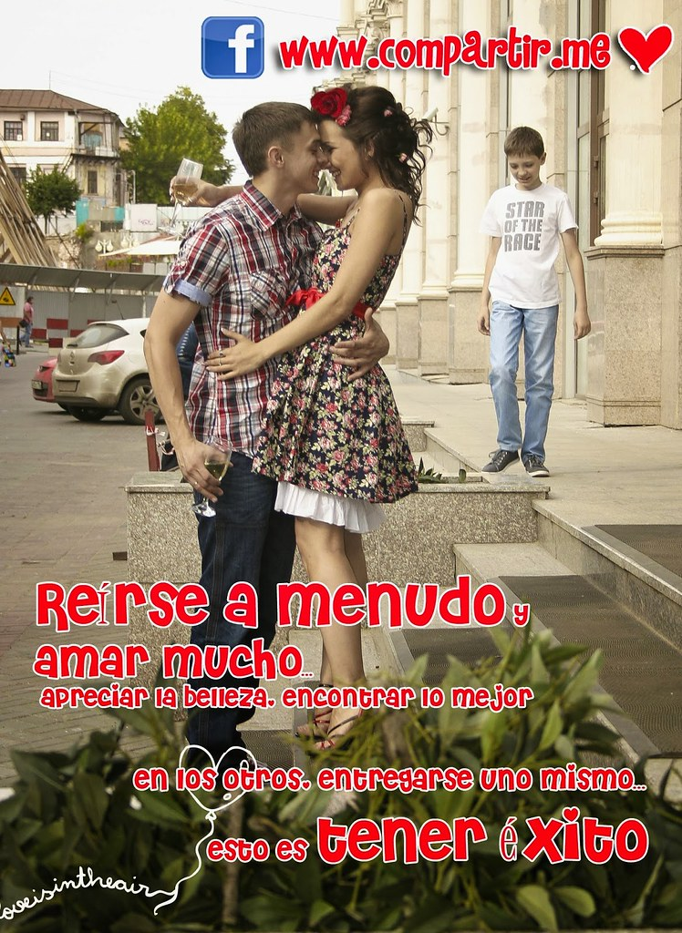 Frases De Amor Postal Con Frase De Amor Para Enamorados D Flickr