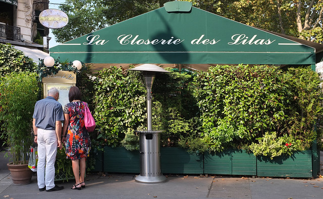 paris - la closerie des lilas