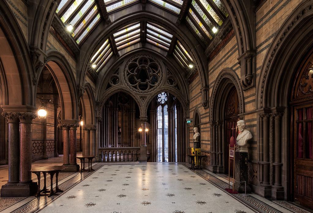 Neo Gothic Hallway