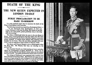 6th February 1952 - Death of King George VI | by Bradford Timeline