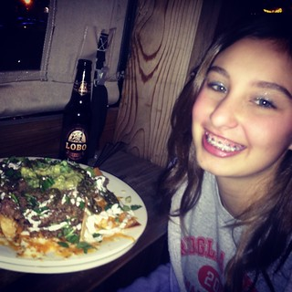 adeline and nachos | by Freds Texas Cafe