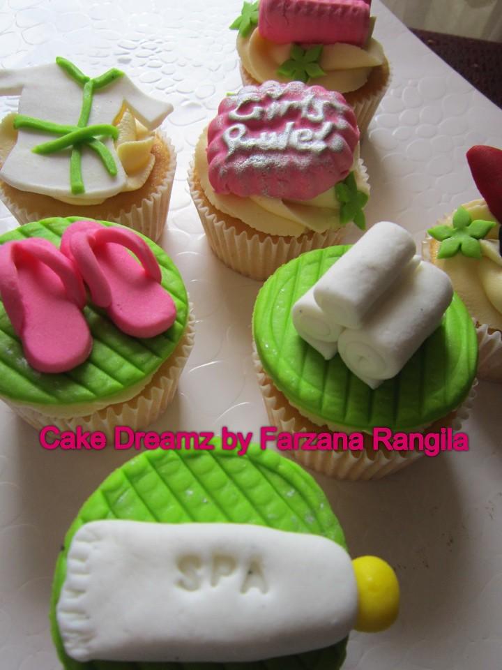 Spa themed cupcakes Farzana Rangila Flickr