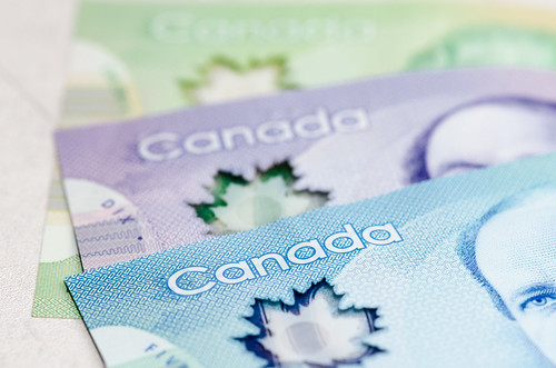Stock Photography - Canadian Money | by Katherine Ridgley