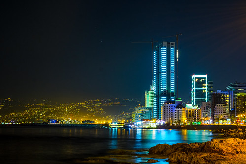 Beirut by night | by Giorgio Photographie