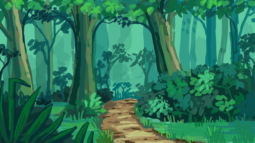 cartoon background practice forest again this is prett flickr