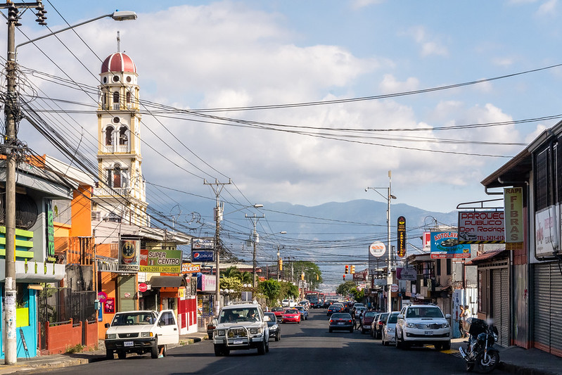 Costa Rican Life in San Jose, Costa Rica, South America
