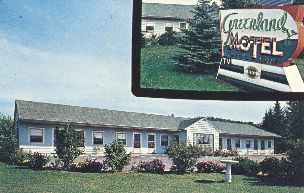Greenland Motel - Munising, Michigan