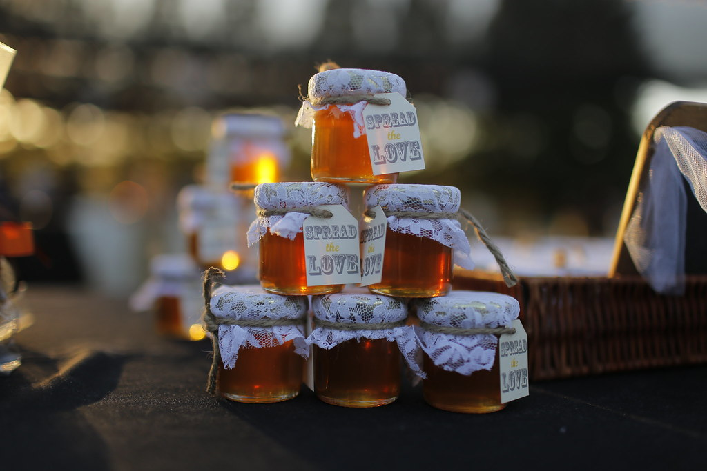 Wildflower Honey Wedding Favors Photo By Mohammed Kheirkh Flickr