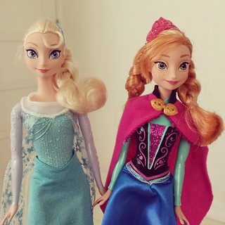 Sister love. Thank you Santa. #frozen | by The Dafinator