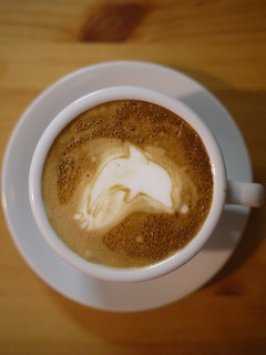 Today's latte, Dolphin Browser. | by yukop