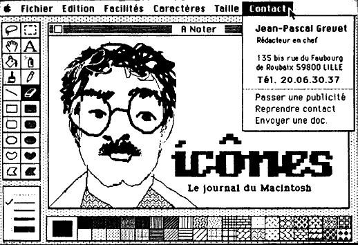 Carte De Visite Jean Pascal Grevet Directeur Journal Icnes