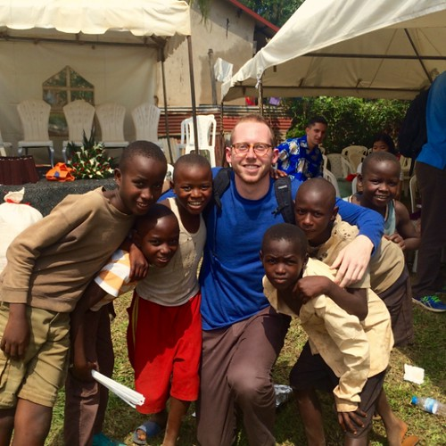 Creative Writing Major Volunteers in Rwanda