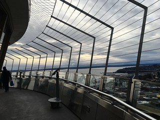 Seattle from the Space Needle | by aehdeschaine