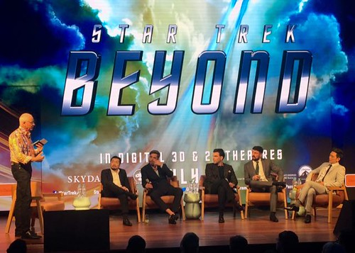 Star Trek Beyond Q and A
