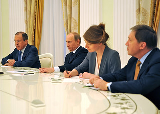 Secretary Kerry Meets With Russian President Putin and Foreign Minister Lavrov | by U.S. Department of State