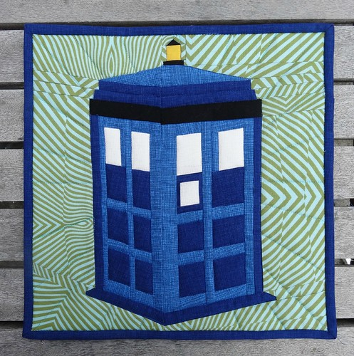 best of gallery crafts tardis quilt tardis mug rug paper pieced tardis pattern as part of 343