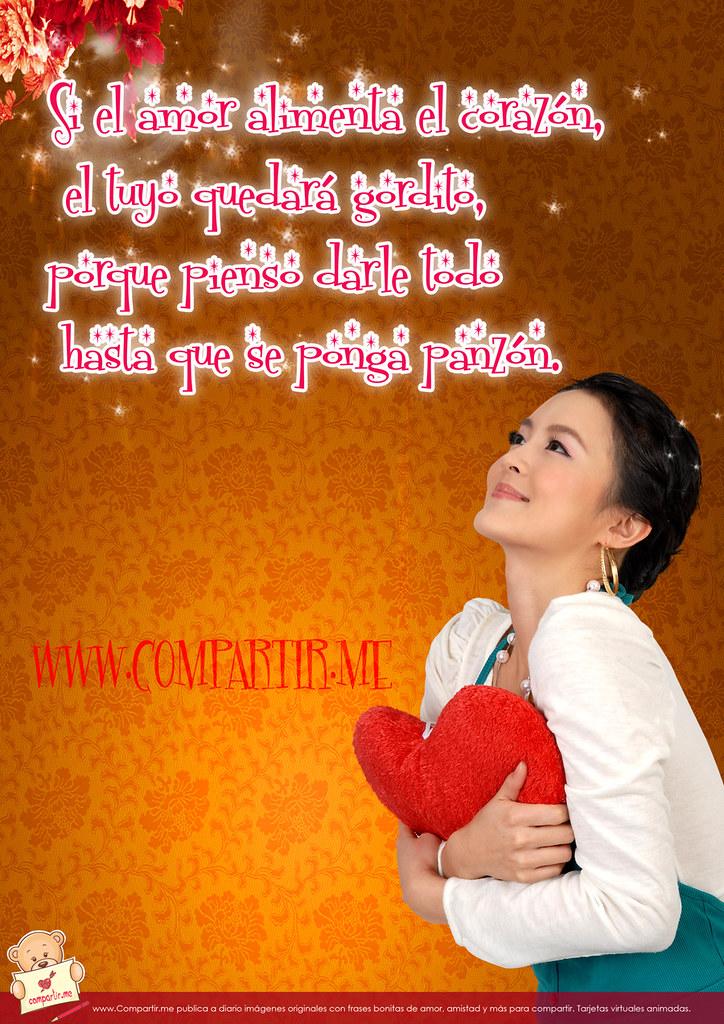 Frases De Amor Nuevas Imagenes Con Frases Graciosas De Am Flickr