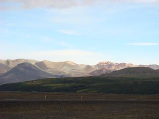 053 Uitzicht parkeerplaats vlak voor Skaftafell