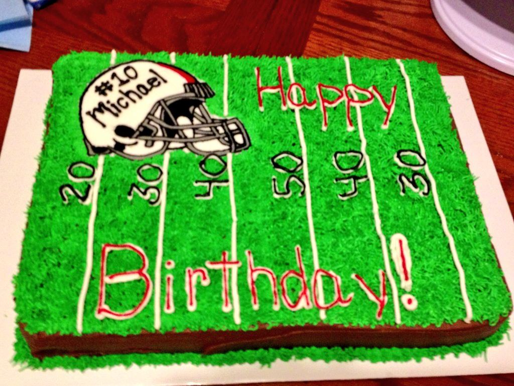 Free Birthday Las Vegas ~ Football cake by danya las vegas nv birthdaycakes fu flickr