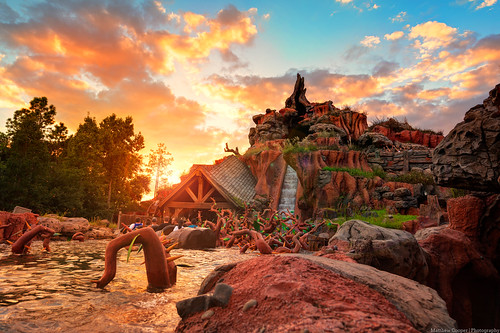 The Eruption of Splash Mountain | by TheTimeTheSpace