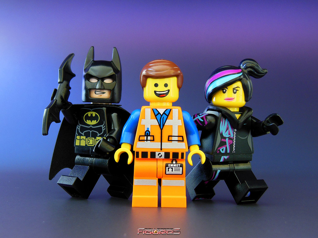 Lego The Movie With Batman Emmet And Cool Tag Everythin Flickr