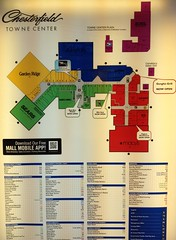Chesterfield Towne Center Map Chesterfield Towne Center Directory | Mike Kalasnik | Flickr Chesterfield Towne Center Map