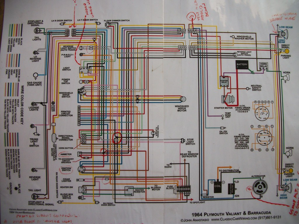 1964 Barracuda Wiring Diagram Trusted Schematics 1967 Dash 64 Valiant Steed Flickr 1968