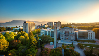 UBC Main Mall Aerial | by UBC News