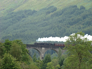 006 Viaduct Glenfinnan Harry Potter