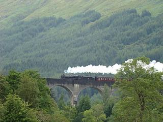 006 Viaduct Glenfinnan Harry Potter