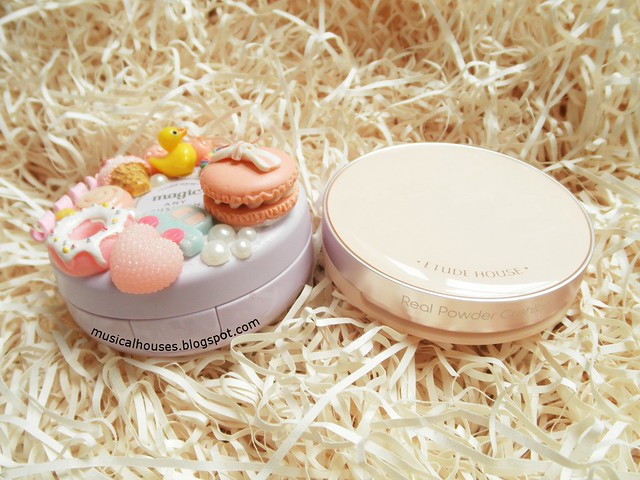 Etude House Real Powder Cushion Review Case Comparison