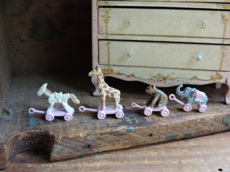 Shabby French Country Vintage Dollhouse Miniatures Flickr