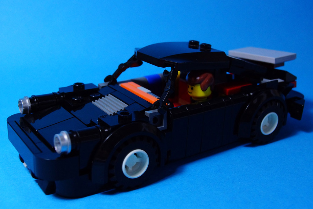 Lego Porsche 930 Thanks Zetovince For Sharing The Porsche Flickr