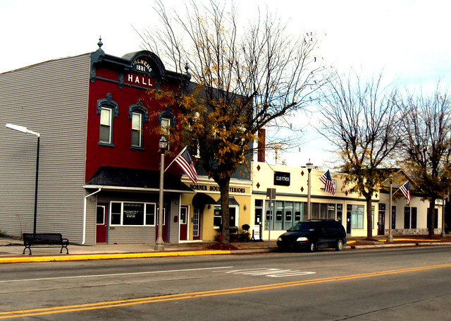 Eaton Rapids, Michigan by David W. King