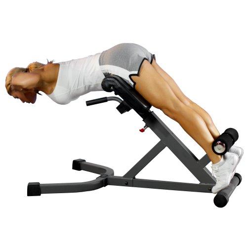 XMark 45 Degree Ab Back Hyperextension Roman Chair XM 4428
