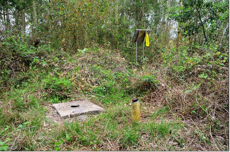 埔姜林中央研究院S064衛星點銅標及一等水準點水泥柱