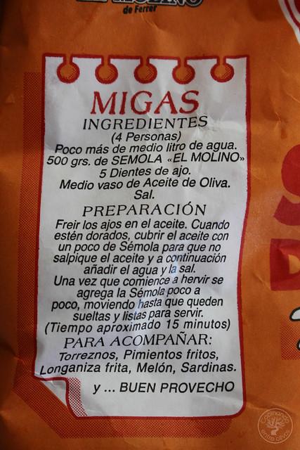 Migas de semola con melon y sardinas (10)