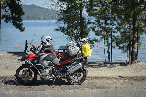 Rest stop along Payette Lake in McCall | by Trail Image