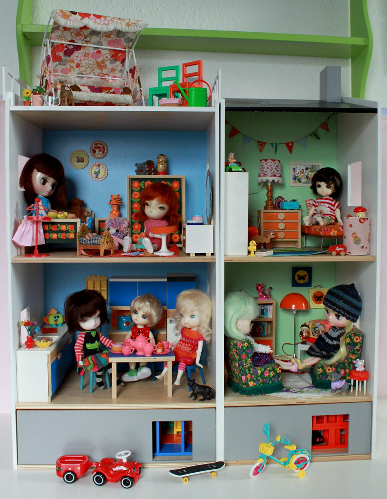Ikea lillabo dollhouse reloaded by blythe berlin