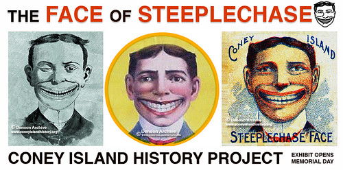 the face of steeplechase exhibit opening memorial day wee