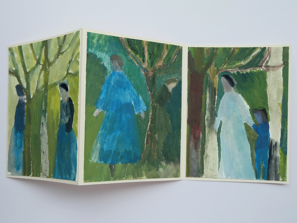 finding a way - triptych - book
