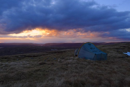 Wild Camping at Sunset | by Nick Bramhall