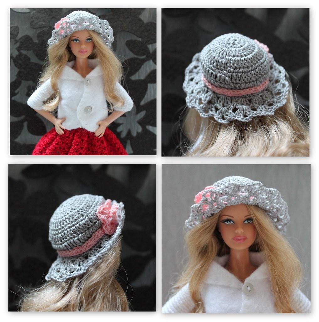 ... Crochet Barbie Hat  f8d9f498cd6