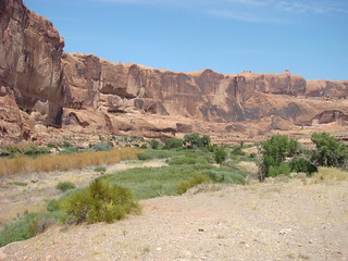 41 Hwy 128 langs Colorado river
