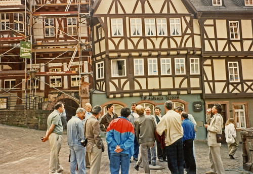 Working Party 6 enjoying a tour of Miltenberg | by SSAVE over 11 MILLION views THX