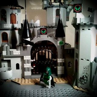 My son has changed the #lego Vampire Castle into Dr Doom's lair for his latest animation #spoilers #marvel | by ThomMck