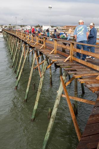 Kure beach fishing pier bo mackison flickr for Kure beach fishing report